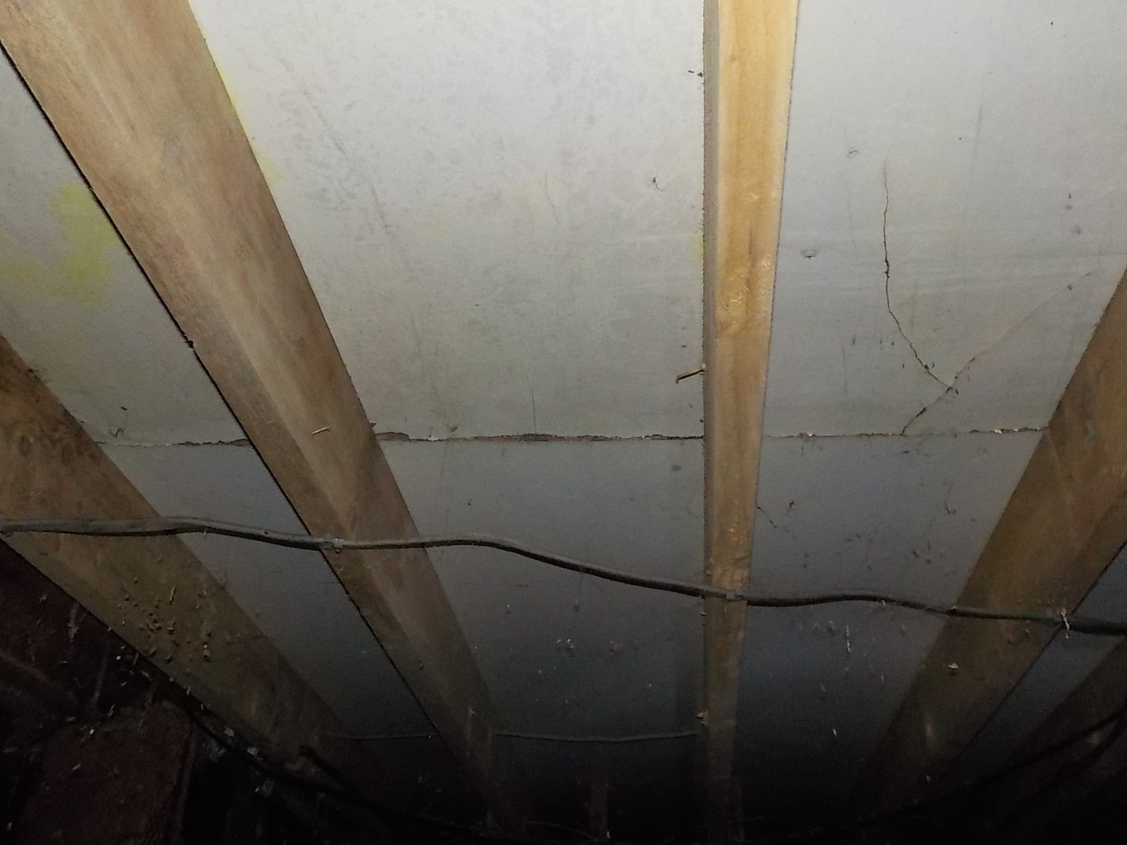 Over spanned and too widley spaced joists